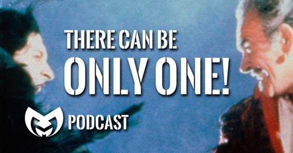 """Highlander Image with text stating """"There can be only one"""""""