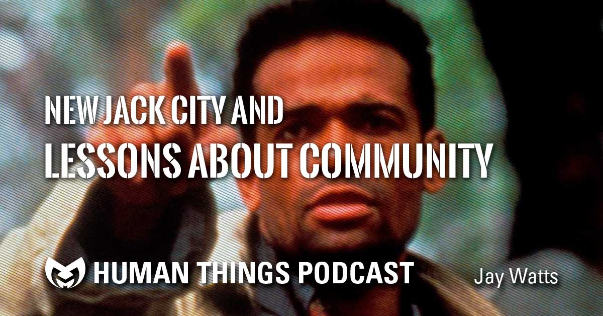 New Jack City and Lessons from Community. Screen shot from the movie.