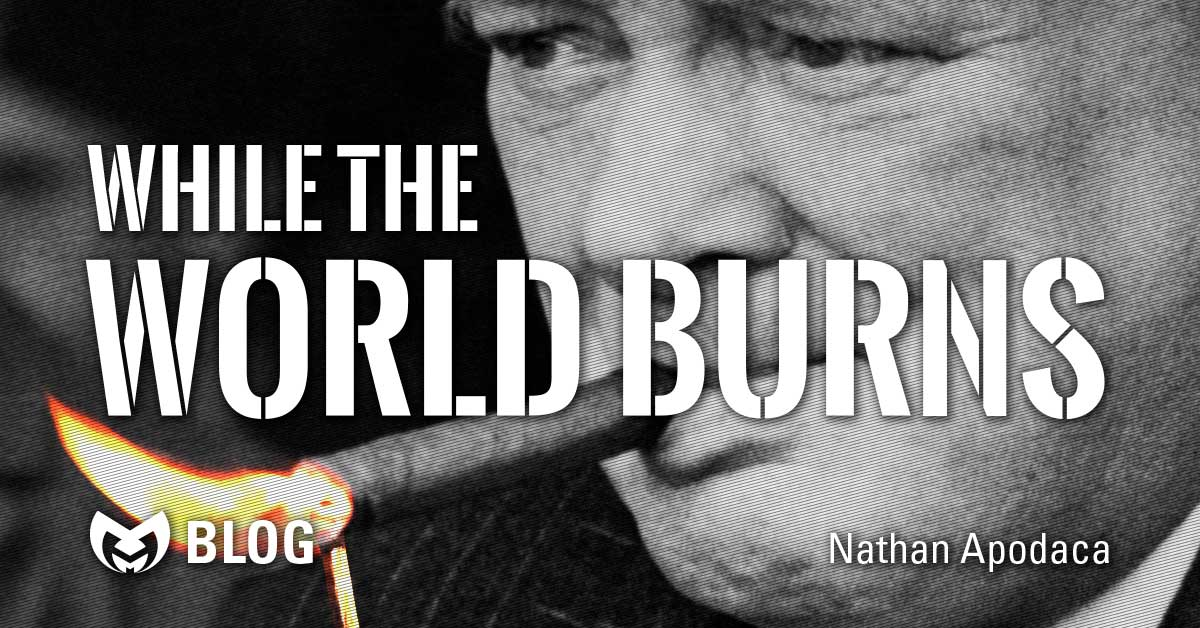 While the World Burns - The Example of Winston Churchill